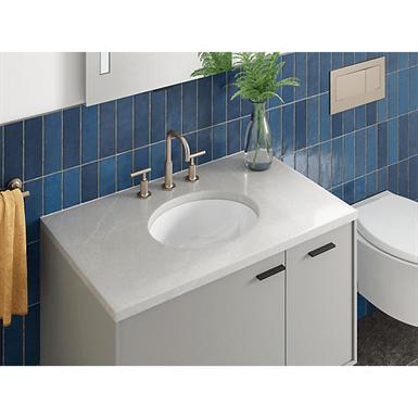 oval 15 x 12 undermount bathroom sink