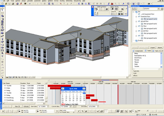 BIM is an effective tool for 4D construction conflict management analysis