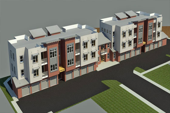 BIM Revit to create the models of Multi-Family Projects