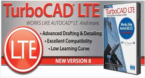 TurboCAD LTE Pro v8 Trial