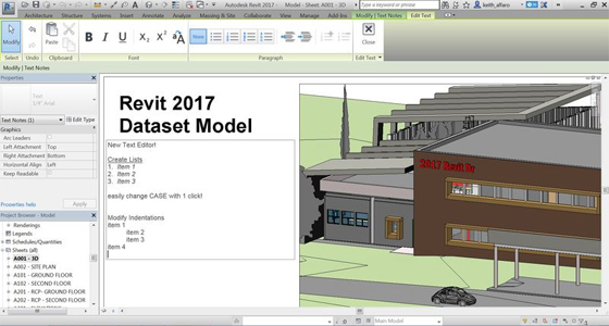 Revit 2017 is launched with some improved features