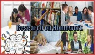 Research on homework