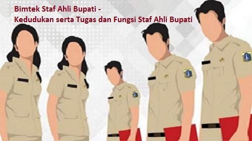 Bimtek Staf Ahli Bupati