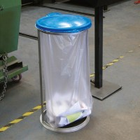 Industrial Recycling Open Sack Holder - 84 Litre Capacity ...