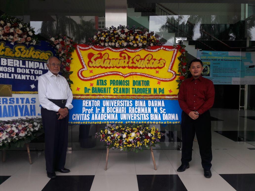 Ucapan Selamat atas Keberhasilan Mencapai Gelar Doktor Kepada DR. Bangkit Seandi Taroreh, M.Pd.