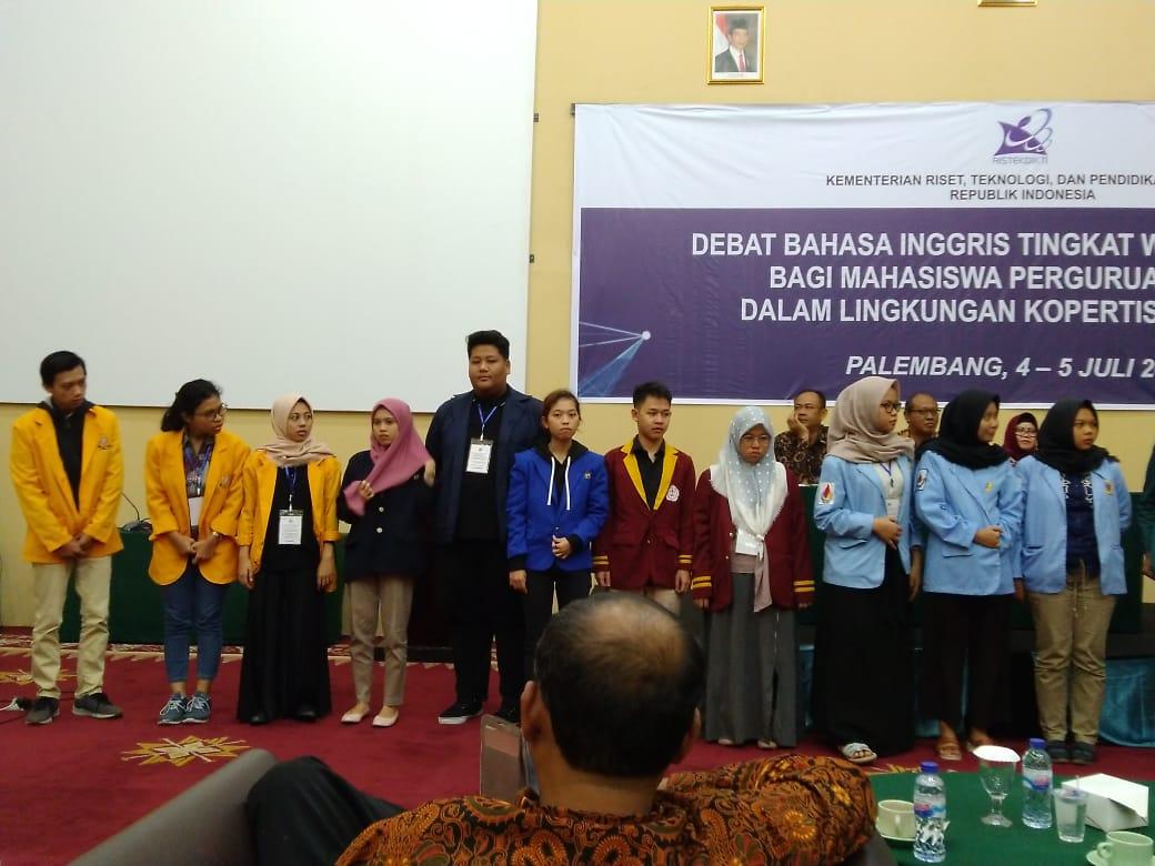 Tim Debat Bahasa inggris UBD mendapat juara 2 pada National University Debating Champhionship 2018 serta side achievement sebagai Pembicara Terbaik ke 3 dan 5