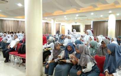 Kunjungan  SMA N 1 Indralaya Selatan ke Universitas Bina Darma
