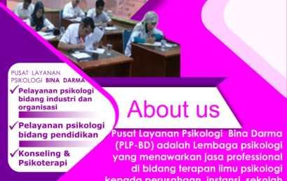 Jasa Layanan Psikologi diPusata Layanan Psikologi Universitas Bina Darma