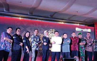 Megah dan Meriahnya Launching Bina Darma TV