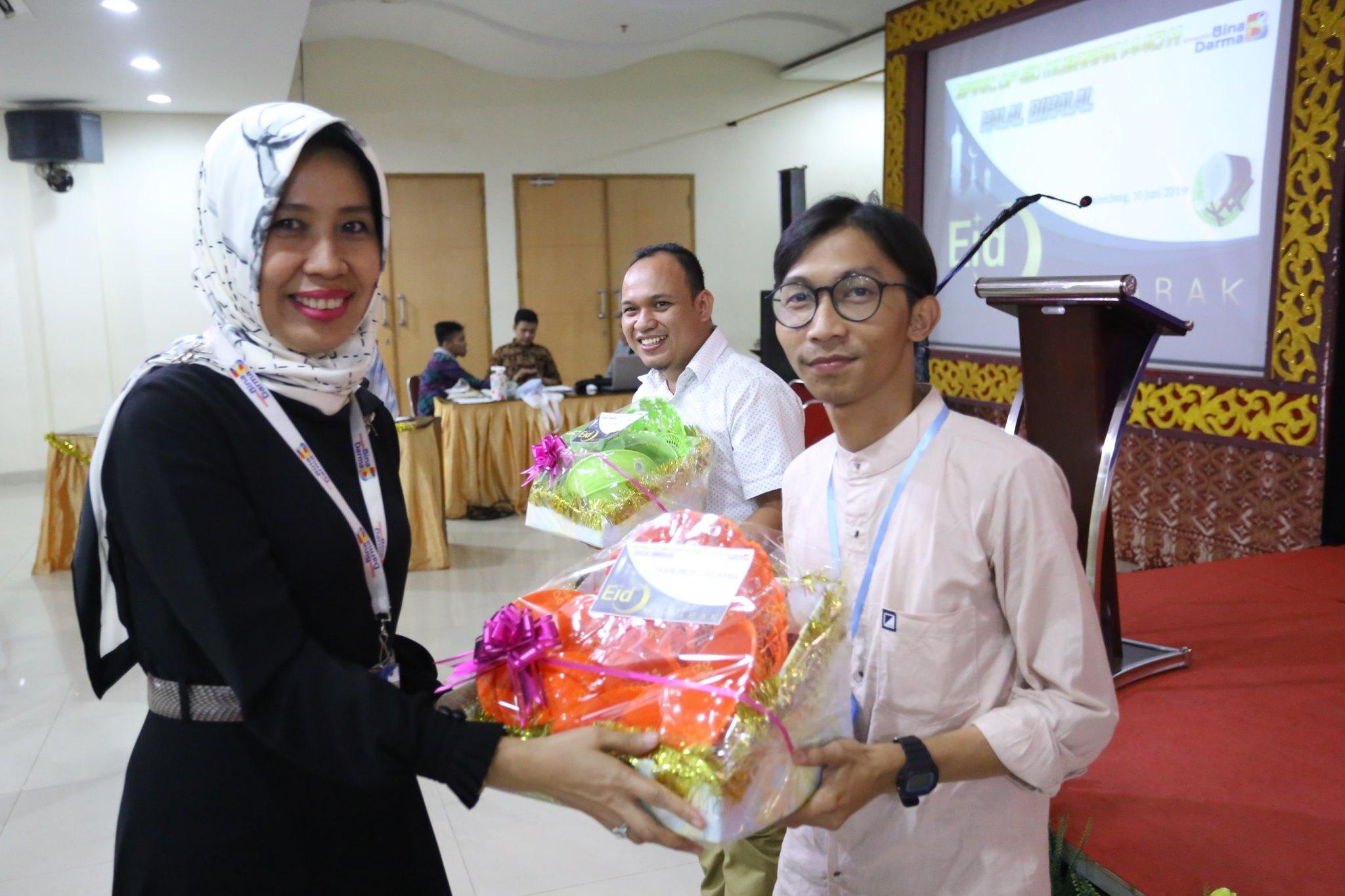 Halal Bihalal Universitas Bina Darma