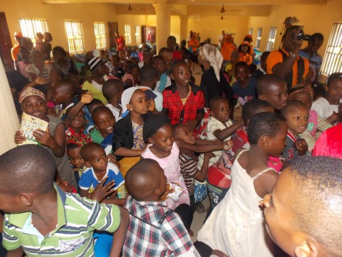 Children express joy during Christmas Party celebration with Bina Foundation
