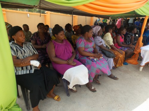 Indigent widows receiving orientation at Bina Foundation