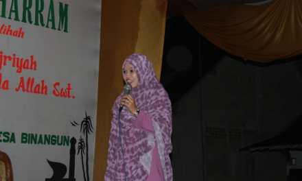 Pengajian Dalam Rangka Memperingati Bulan Muharram 1440 Hijriah di Desa Binangun