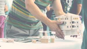 stampa 3d plastico architettura