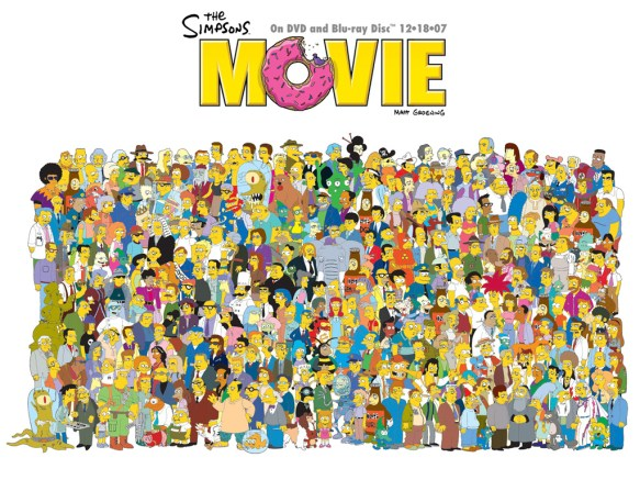 The Simpsons Movie Complete Cast