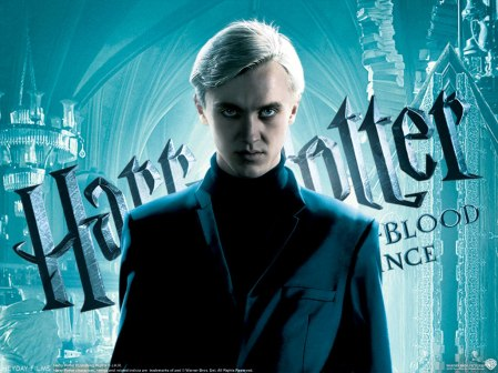 Harry Potter and the Half Blood Prince. Malfoy