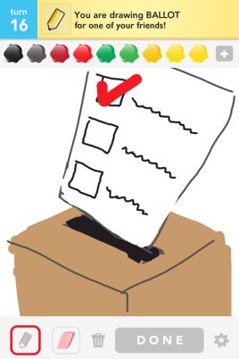 Draw Something - Ballot