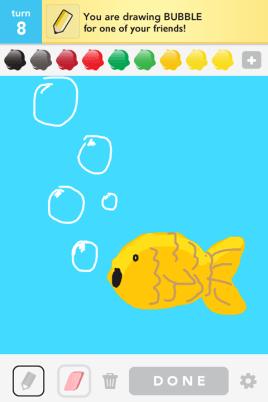 Draw Something - Bubble