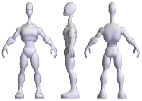 Alien profile renders