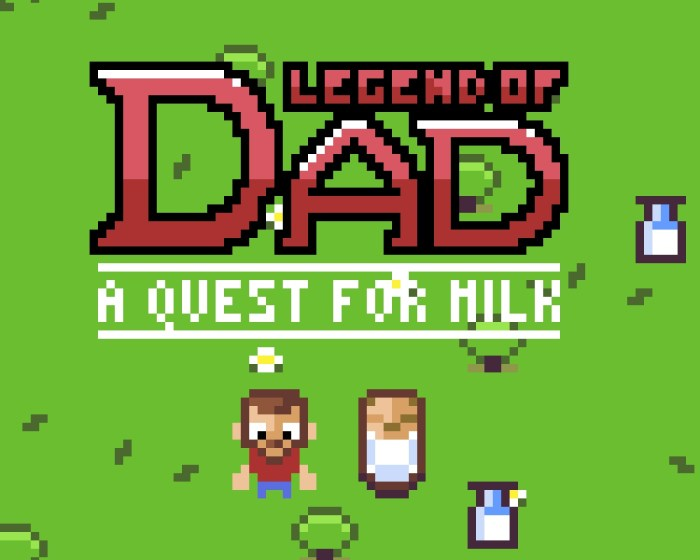 Legend of Dad – A HTML5 Game made with Phaser