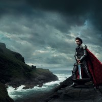 Roger Federer as King Arthur from Sword in the Stone