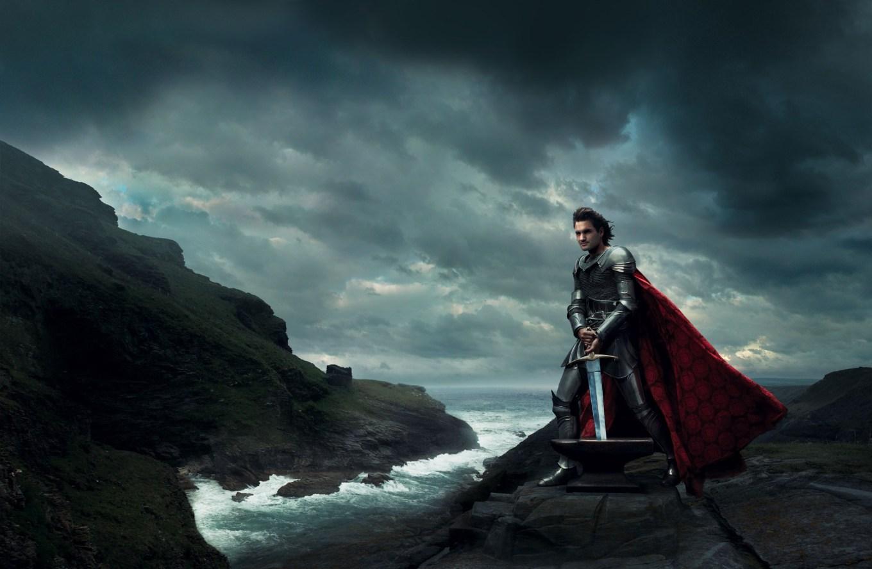 Roger Federer as King Arthur from Sword in the Stone