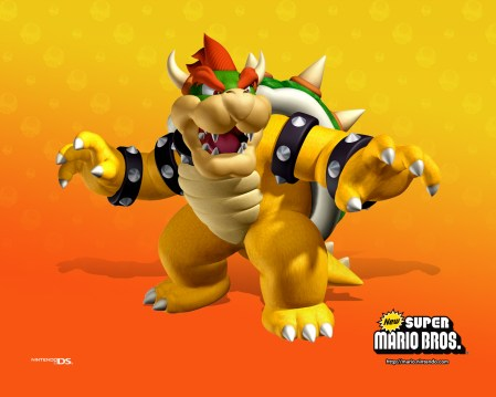 New Super Mario Brothers - Bowser/ King Kooper