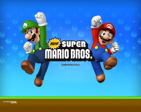 New Super Mario Brothers - Mario and Luigi