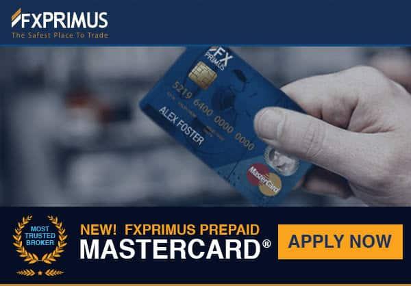 FxPrimus mastercard