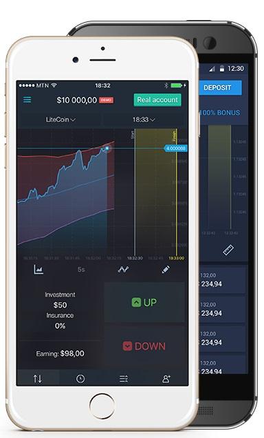 Expert option trading