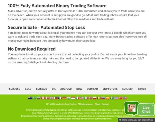 Binaryoptionautotrading review 2019