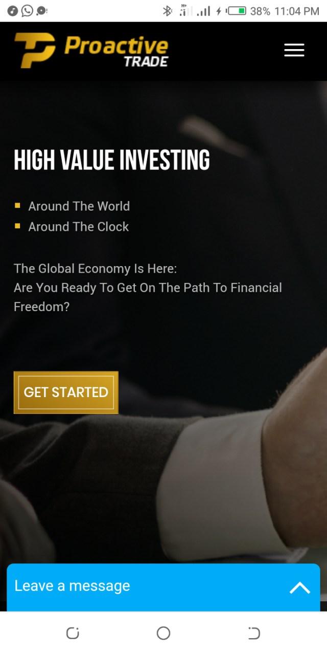 Proactivetrade.com review