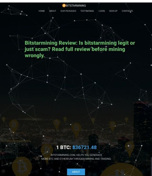 Bitstarmining review