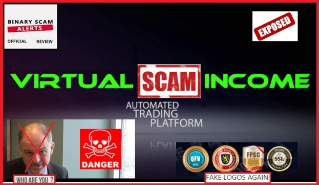 Virtual Income Scam