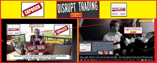 disrupt trading scam