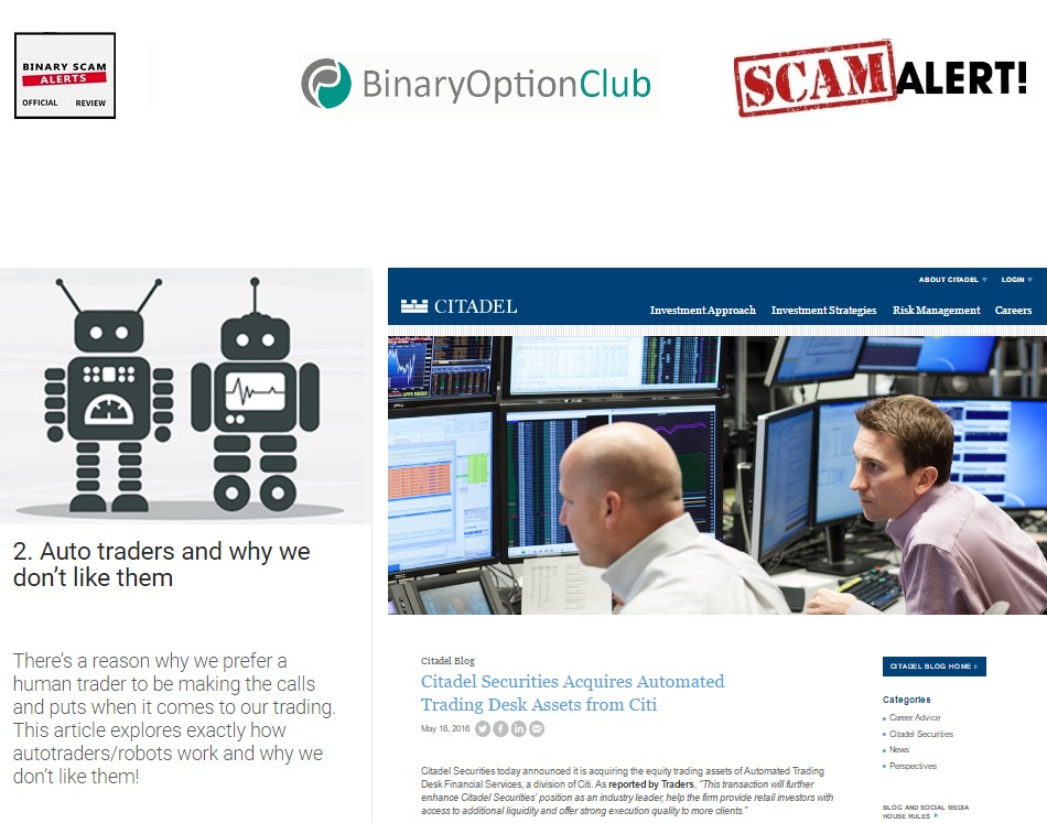 Binary options traders choice bar