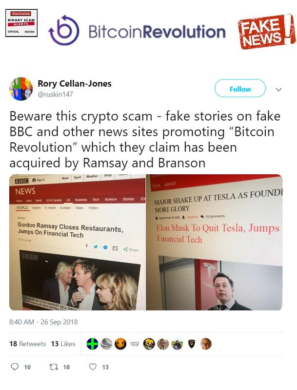 Bitcoin Revolution SCAM Uses Top Chef Gordon Ramsay   Binary Scam Alerts