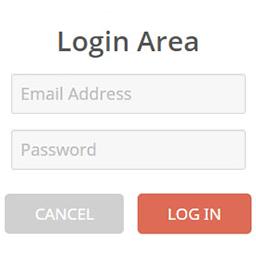 fake login area