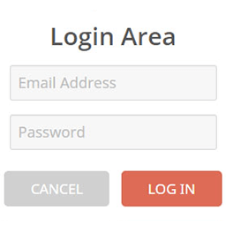 fake login area