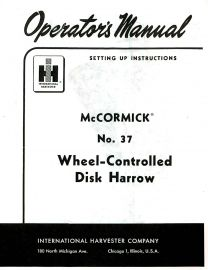 Binder Books: IH Implement Operator & Instruction Manuals