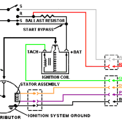How To Wire A Ballast Resistor Diagram Horse Trailers Ignition Systems For The Duraspark Conversion Binderplanet Img