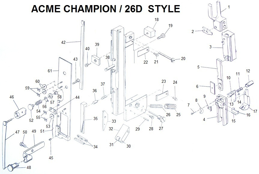 Acme Champion Wire Stitcher Manual: Software Free Download