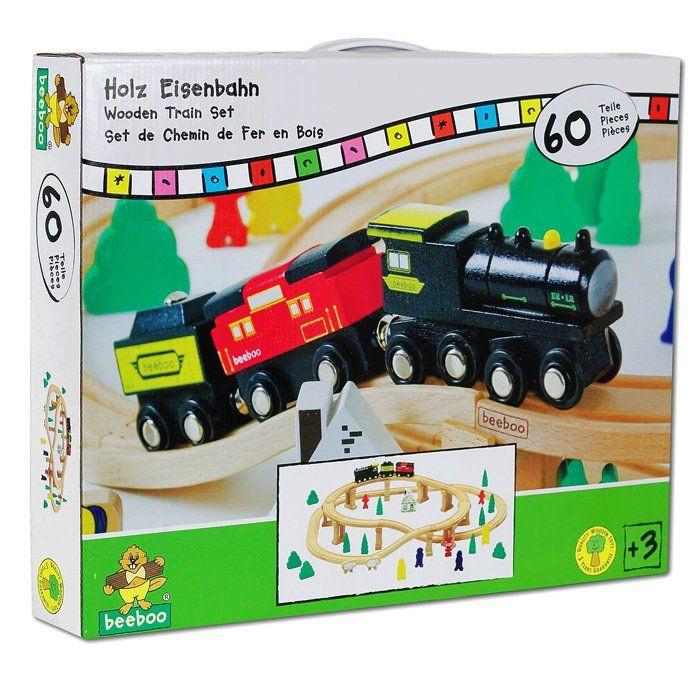 Trenino in Legno Giocattolo per Bambini di Beeboo  un bel