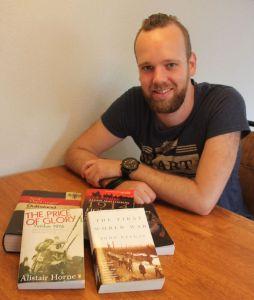 Geschiedenisreis naar Verdun Frankrijk Eerste wereldoorlog Pascal Meester
