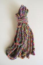 Rainbow rope cotton