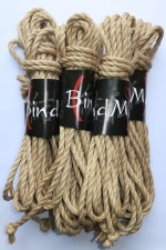 jute 5,5mm natural premium bondage kinbaku rope