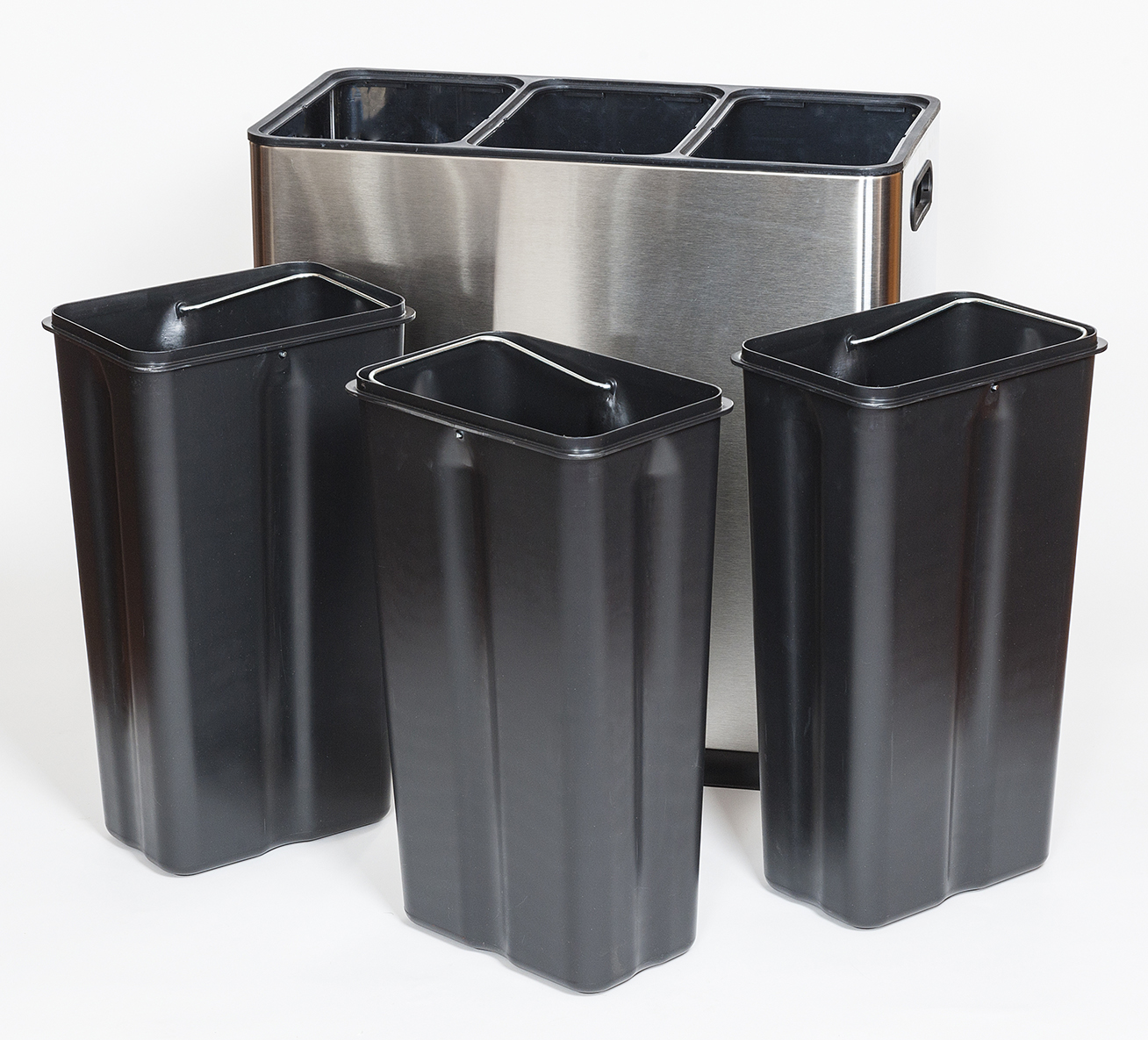 small recycling bins for kitchen with apron sink