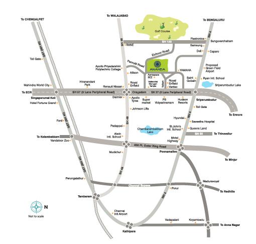 AH Location Map
