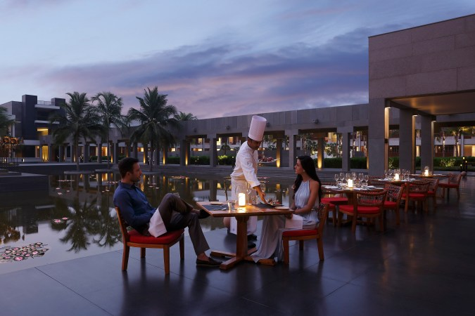 InterContinentalChennai Mahabalipuram Resort - Alfresco dining at The Melting Pot Market Cafe