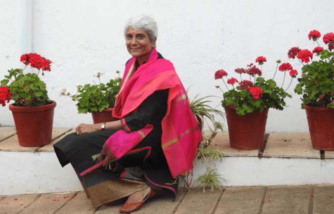 Sunalini Menon at the Tata Plantation Trail Bungalows